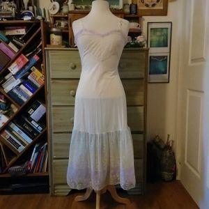 Pride rainbow unicorn vintage flounce slip dress